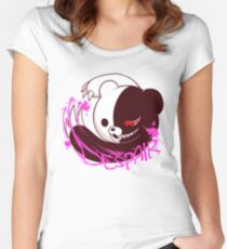 Dangan Ronpa Monobear Women's Fitted Scoop T-Shirt