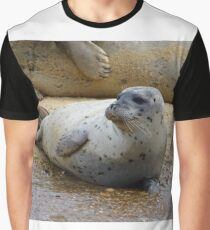 Seals Of Blakeney (2) Graphic T-Shirt