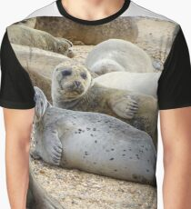 Seals of Blakeney (3) Graphic T-Shirt