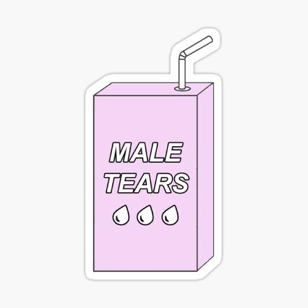Male Tears Sticker