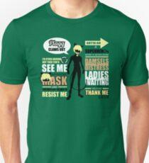 Cat Noir Quotes Unisex T-Shirt