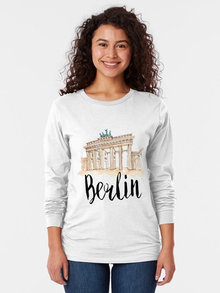 Alternate view of Berlin Long Sleeve T-Shirt