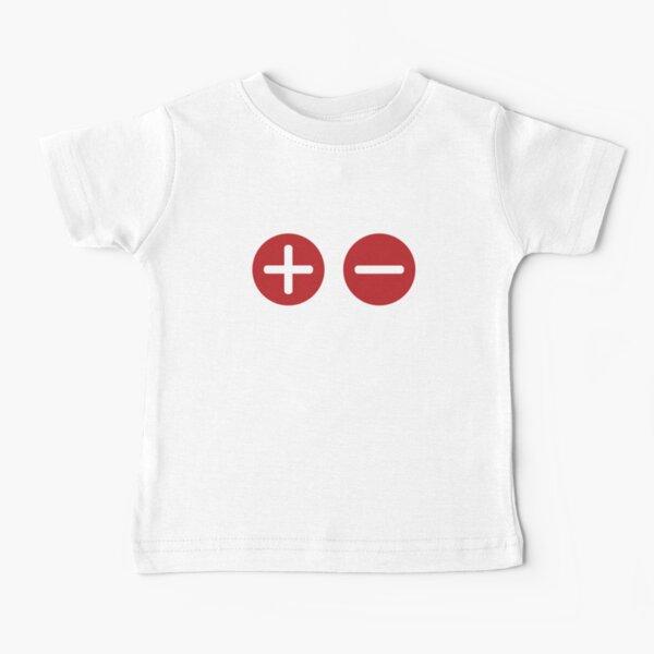 Plus and Minus Baby T-Shirt
