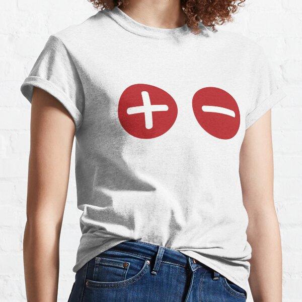 Plus and Minus Classic T-Shirt
