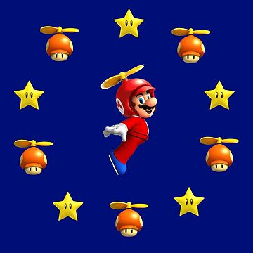 Mario in the sky by Laflagan