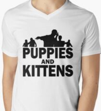Z Nation: Puppies and Kittens Men's V-Neck T-Shirt