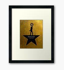 Rogers: An American Hero Framed Print