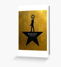 Rogers: An American Hero Greeting Card