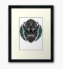 Beastman invert  Framed Print