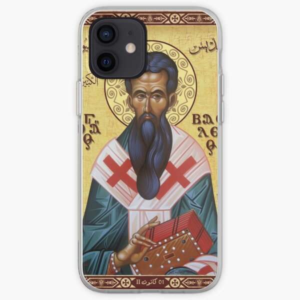 St. Basil the Great iPhone Soft Case