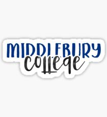 Middlebury College - Style 1 Sticker