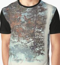 Beautiful Branches - Merry Christmas Graphic T-Shirt