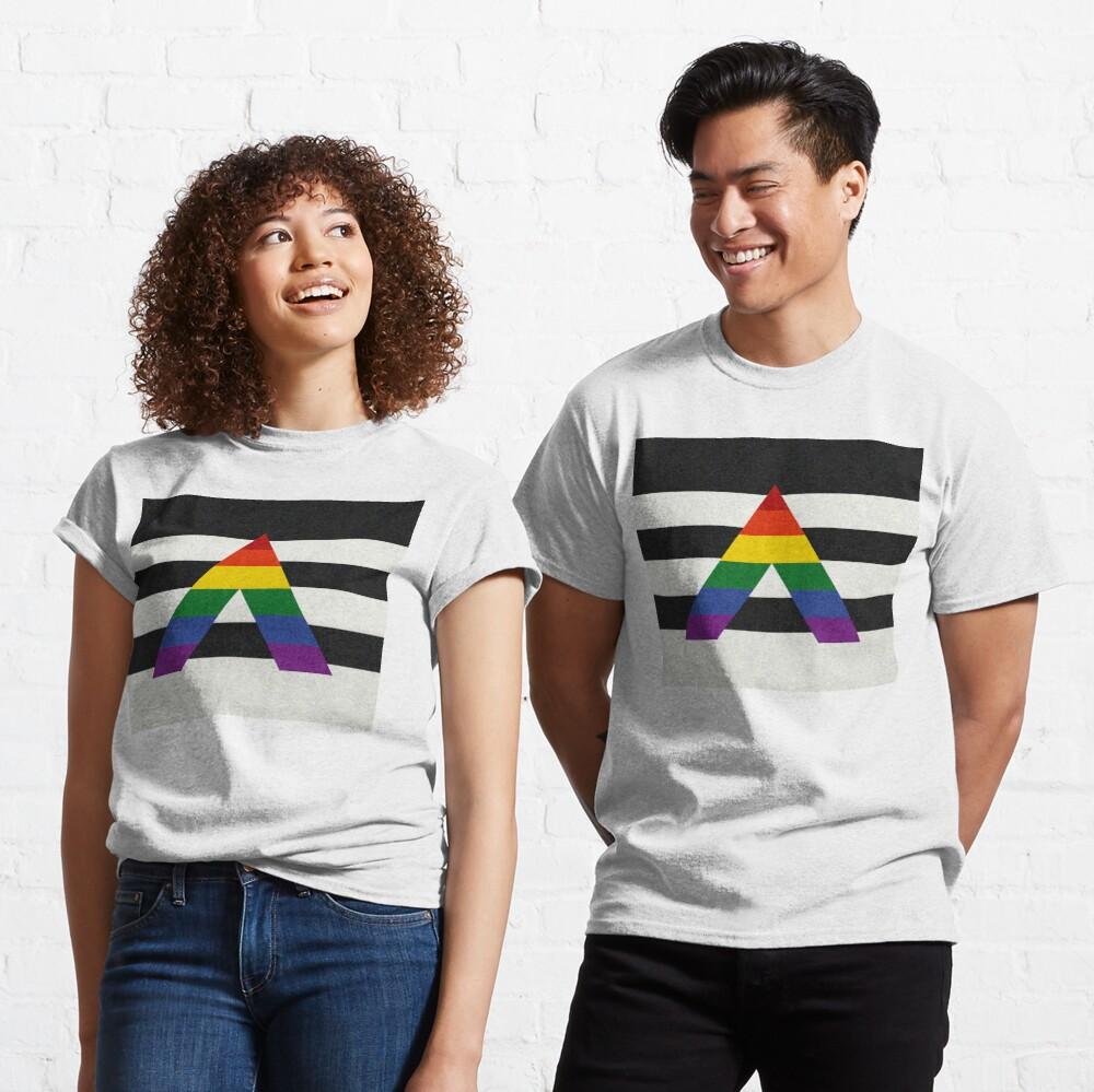 LGBT Ally Flag Classic T-Shirt