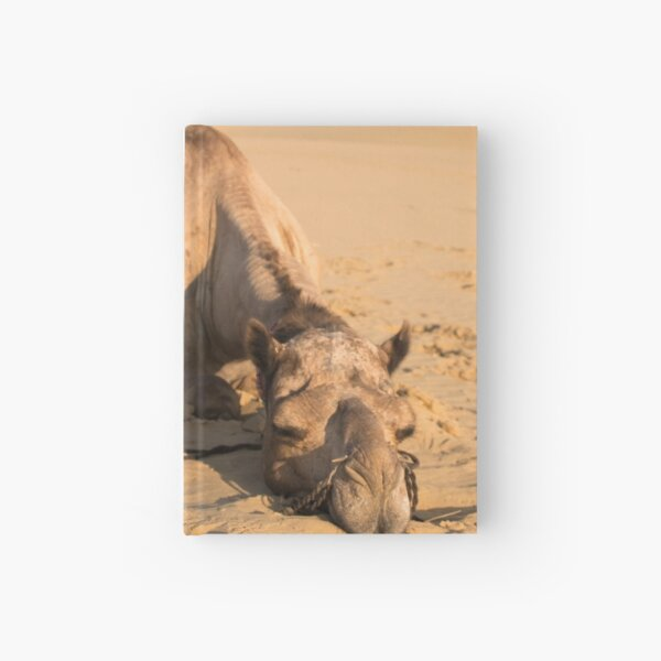 Poor Tired Camel Hardcover Journal