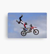 Bolddog Lings FMX Motorcycle Display Team Canvas Print