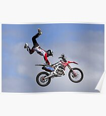 Bolddog Lings FMX Motorcycle Display Team Poster