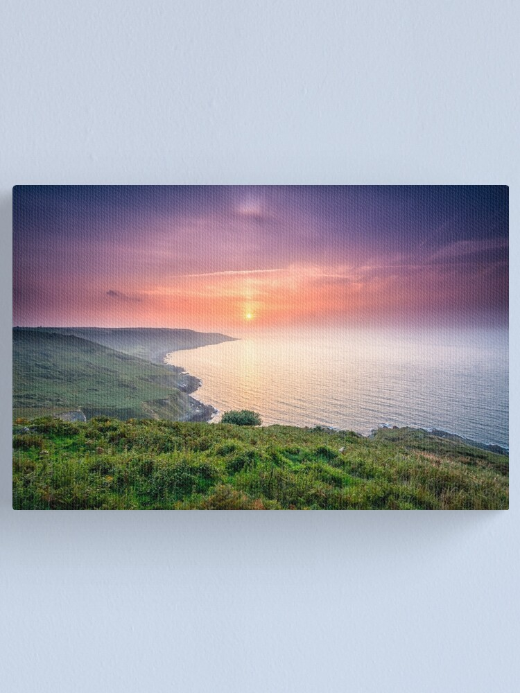 Alternate view of Sunrise at Rame Head Canvas Print