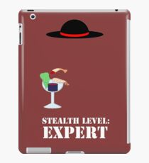 Stealth Level: Expert iPad Case/Skin