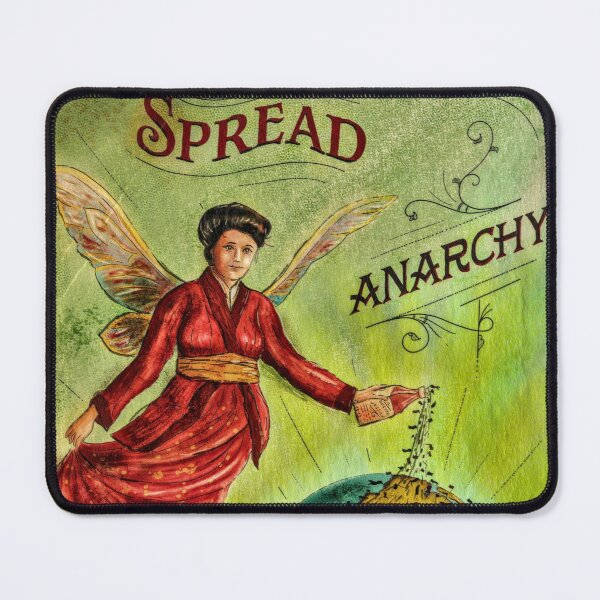 Spread Anarchy Mouse Pad
