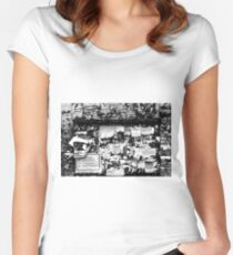 Advertising Women's Fitted Scoop T-Shirt