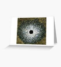 Land Art - Andy Goldsworthy Greeting Card