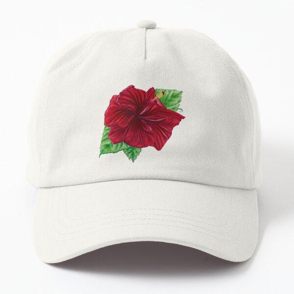 Hibiscus Dad Hat