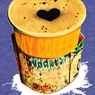 RuinPub Coffee On The Go with Graffiti wrap by Andrea Beloque