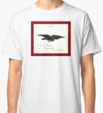 Raven – Le corbeau (ex-libris) Classic T-Shirt