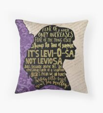 Hermione Character  Throw Pillow