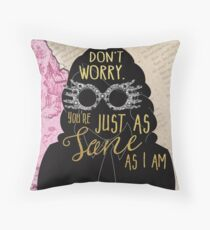 Luna - Sane Throw Pillow
