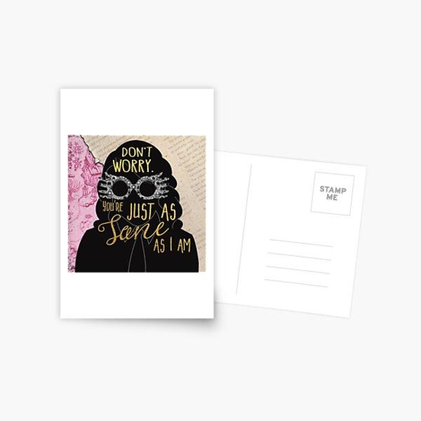 Luna - Sane Postkarte