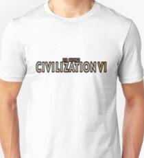 Civilization VI white logo T-Shirt