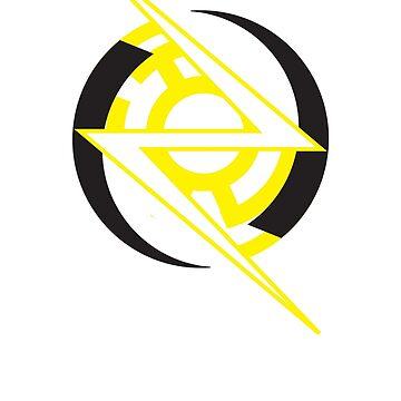 Minimal Yellow Lantern Reverse Flash by DarksideEric