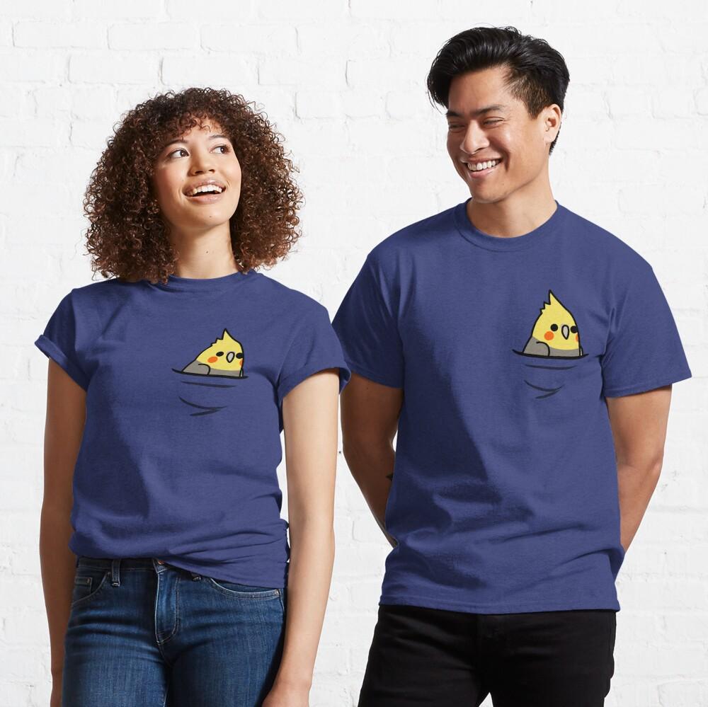 Too Many Birds! - Yellow Cockatiel Classic T-Shirt