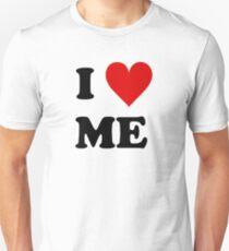 Camiseta unisex Me encanta el corazón