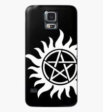 Anti-Possession Tattoo Symbol White Version - Supernatural Inspired Case/Skin for Samsung Galaxy