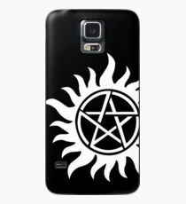 Anti-Possession Tattoo Symbol White Version - Supernatural Inspired Case/Skin for Samsung Galaxy