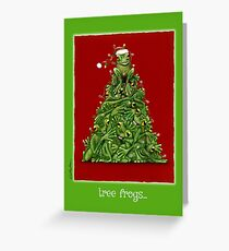 Will Bullas card / tree frogs... Greeting Card