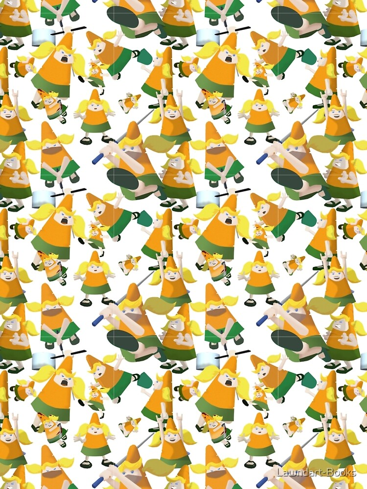 Carrot pattern by Lawndart-Books
