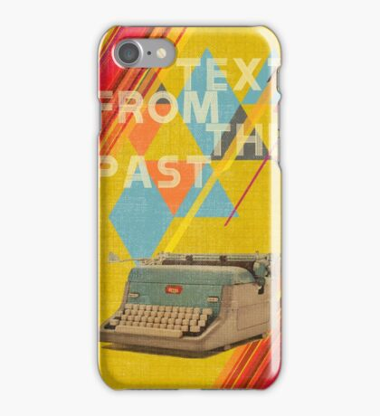 Retro Collection  -- Text From The Past iPhone Case/Skin