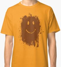 Smiley Mud Face Classic T-Shirt