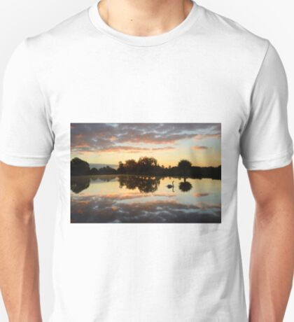 Landscape with a Swan T-Shirt