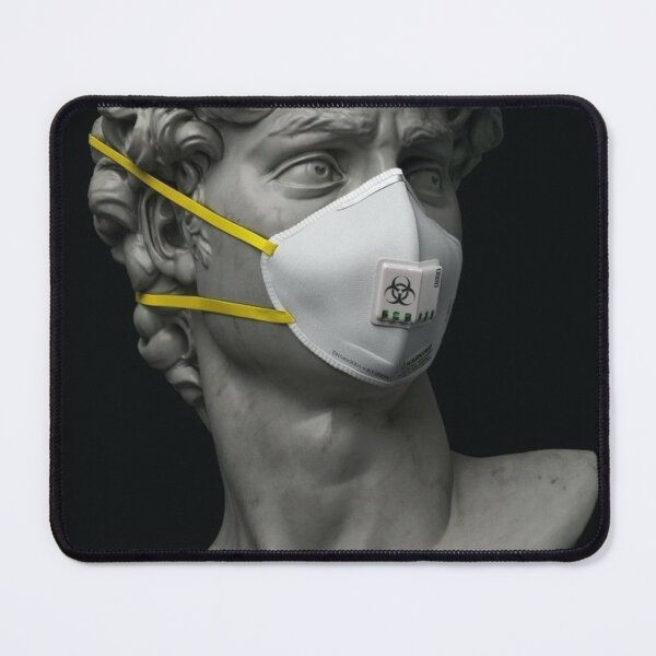MASK FIGRUE Mouse Pad