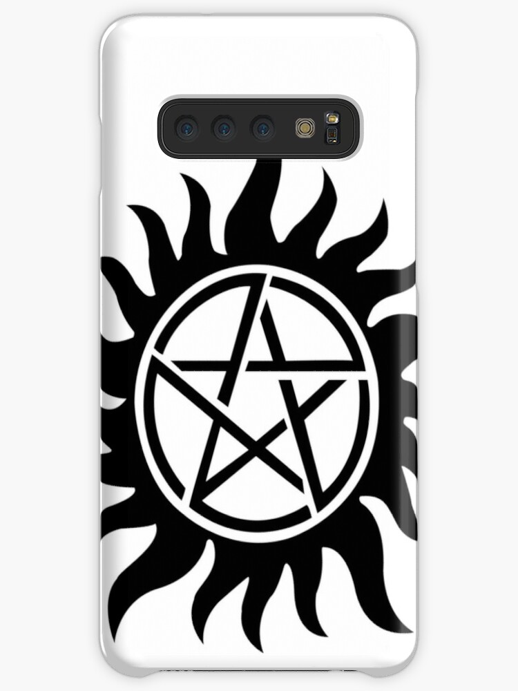 'Supernatural inspired Anti-Possession Symbol Tattoo' Case/Skin for Samsung  Galaxy by AdrienneOrpheus