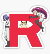 Team Rocket - Pokémon Sticker