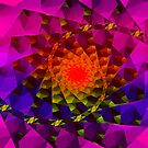 fractal dawn by mindgoop