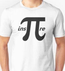 Inspire Inspirational Pi Symbol Unisex T-Shirt