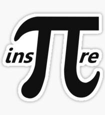 Inspire Inspirational Pi Symbol Sticker
