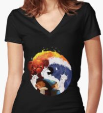 @ my man Peter S Beagle Fitted V-Neck T-Shirt