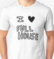 I HEART FULL HOUSE Unisex T-Shirt